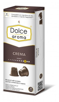 Кофе в капсулах Nespresso Dolce Aroma Crema 10, Италия 100% Арабика Неспрессо