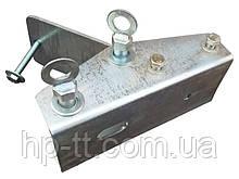 Кронштейн складывающегося дышла Кияшко под трубу 40 х 80 мм 000103-1