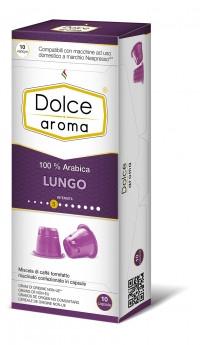 Кофе в капсулах Nespresso Dolce Aroma Lungo 5, Италия 100% Арабика Неспрессо