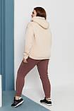 Теплый спортивный костюм женский Размер 48 50 52 54 56 58 60 62 В наличии 4 цвета, фото 2