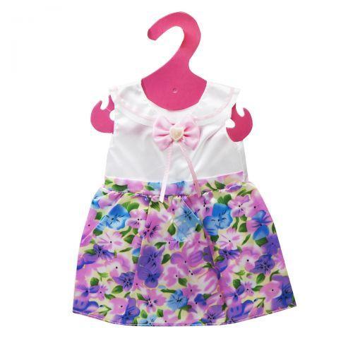 Одежда для куклы реборна (пупса) атласное платье