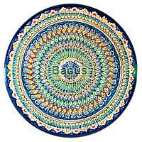 Ляган узбекский (тарелка узбекская) диаметр 42см ручная работа 4205-02