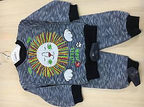 Теплий дитячий костюмчик, фото 3