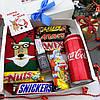 Новогодний подарочный набор мужской со сладостями, фото 2