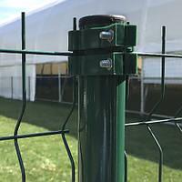 Металлические оцинкованые столбы для ограждения диаметр 45мм