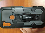 Накладка Shockproof   Armor Case  i- Cristal  Samsung  M11  2020 / A11   (серый), фото 2