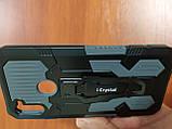 Накладка Shockproof   Armor Case  i- Cristal  Samsung  M11  2020 / A11   (серый), фото 3