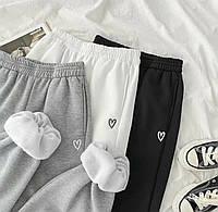 Жіночі штани зимові Трехніть на фліс 42-44; 44-46