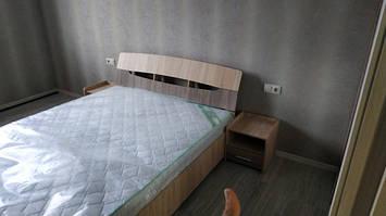 кровать Марго дуб сонома+дуб трюфель