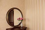 Зеркало в круглой раме черное с золотом /Диаметр 550мм/ /Круглое зеркало в ванную/ Код MD 1.1/1, фото 5