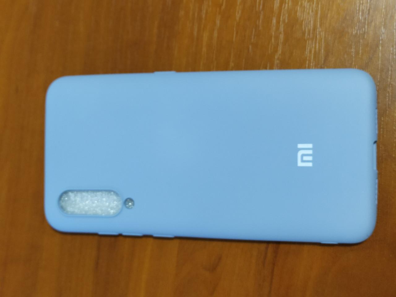 Накладка   Silicon Cover full   для  Xiaomi Redmi  MI 9  (серый)