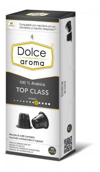 Кава в капсулах Nespresso Dolce Aroma Top Class 8, Італія 100% Арабіка Неспрессо