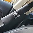 "Накладка на ремень безопасности с логотипом  ""Skoda New"", фото 2"
