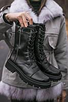 Ботинки женские Balenciaga Boot Tractor черевики жіночі демисезонные ботинки баленсиага жіночі демісезонні