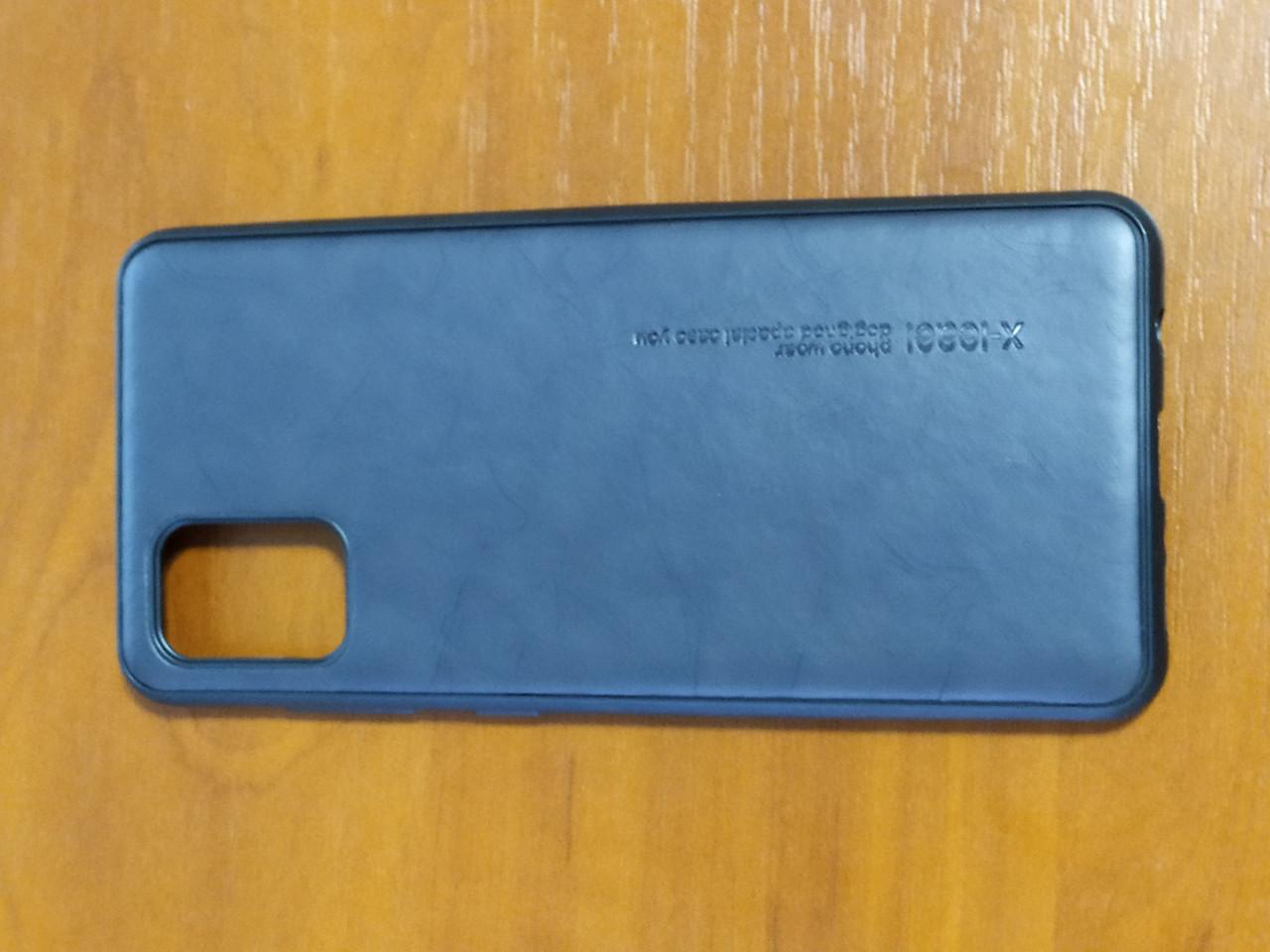 Накладка X- Leael Samsung A31 2020 ( черный )