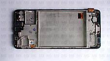 Дисплей с сенсором Samsung M317 Galaxy M31s чёрный,  GH82-23774A, оригинал, с рамкой!, фото 3