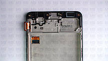 Дисплей с сенсором Samsung M317 Galaxy M31s чёрный,  GH82-23774A, оригинал, с рамкой!, фото 2