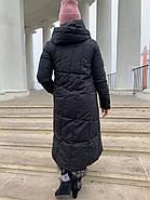 Пуховик пальто женский  Delfy 19-058-D1, фото 3