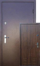 Входные двери на улицу Редфорт  (Redfort)  Арка метал/МДФ Винорит с притвором