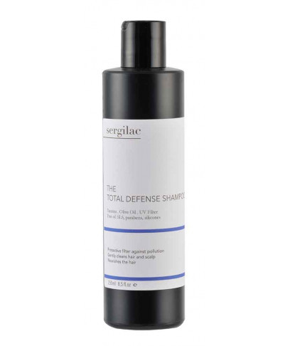 Защитный шампунь для волос SERGILAC 250 мл