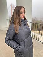 Пуховик пальто женский  Delfy 19-058-19, фото 6