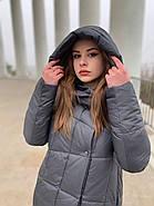 Пуховик пальто женский  Delfy 19-058-19, фото 5
