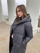 Пуховик пальто женский  Delfy 19-058-19, фото 7