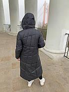 Пуховик пальто женский  Delfy 19-058-19, фото 4