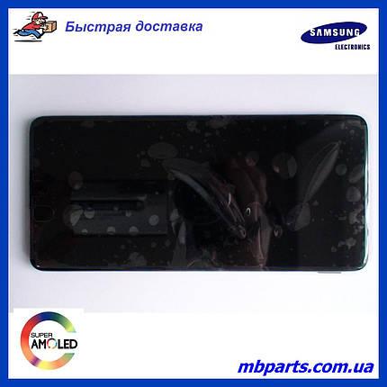 Дисплей с сенсором Samsung M515 Galaxy M51 чёрный,  GH82-23568A, оригинал с рамкой!, фото 2