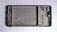 Дисплей с сенсором Samsung M515 Galaxy M51 чёрный,  GH82-23568A, оригинал с рамкой!, фото 3