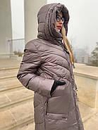 Пуховик пальто жіночий Delfy 19-86-30, фото 4