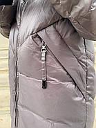 Пуховик пальто жіночий Delfy 19-86-30, фото 7