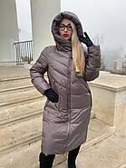 Пуховик пальто жіночий Delfy 19-86-30, фото 2