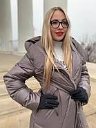 Пуховик пальто жіночий Delfy 19-86-30, фото 6