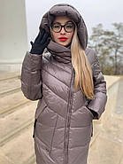 Пуховик пальто жіночий Delfy 19-86-30, фото 3
