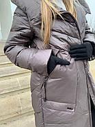 Пуховик пальто жіночий Delfy 19-86-30, фото 5