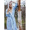 Халат женский флисовый теплый LGL 803 KEY Польша, фото 5