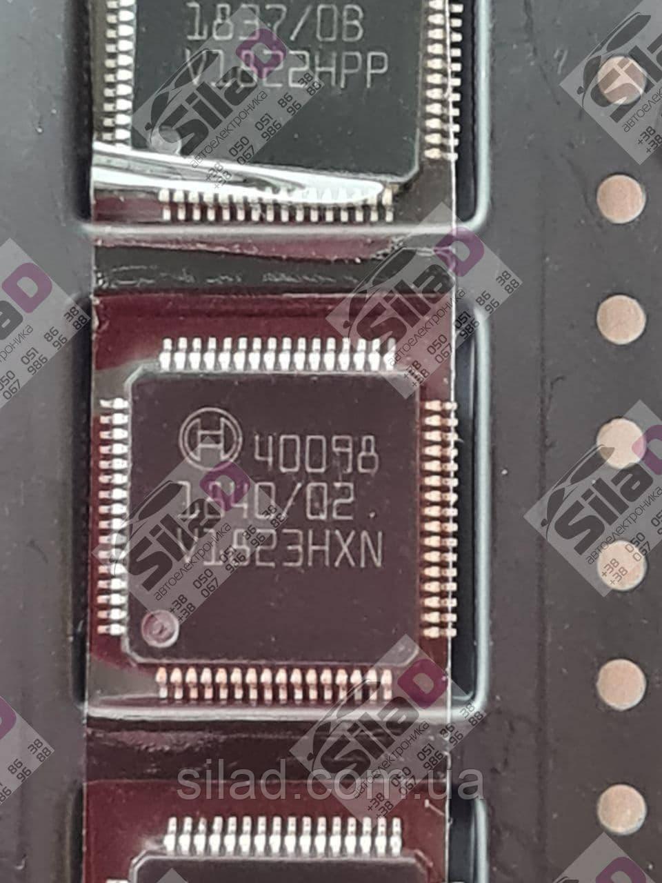 Микросхема Bosсh 40098 корпус QFP64