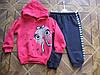 Детский теплый костюмчик с начесом для девочки . 68 см  74 см Турция