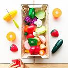Игровой Набор Для Двоих - Овощи-Фрукты На Липучках Battat Lite BT2534Z, фото 4
