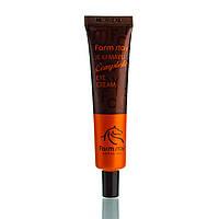 Комплексный крем с лошадиным маслом для кожи вокруг глаз FarmStay Jeju Mayu Complete Eye Cream