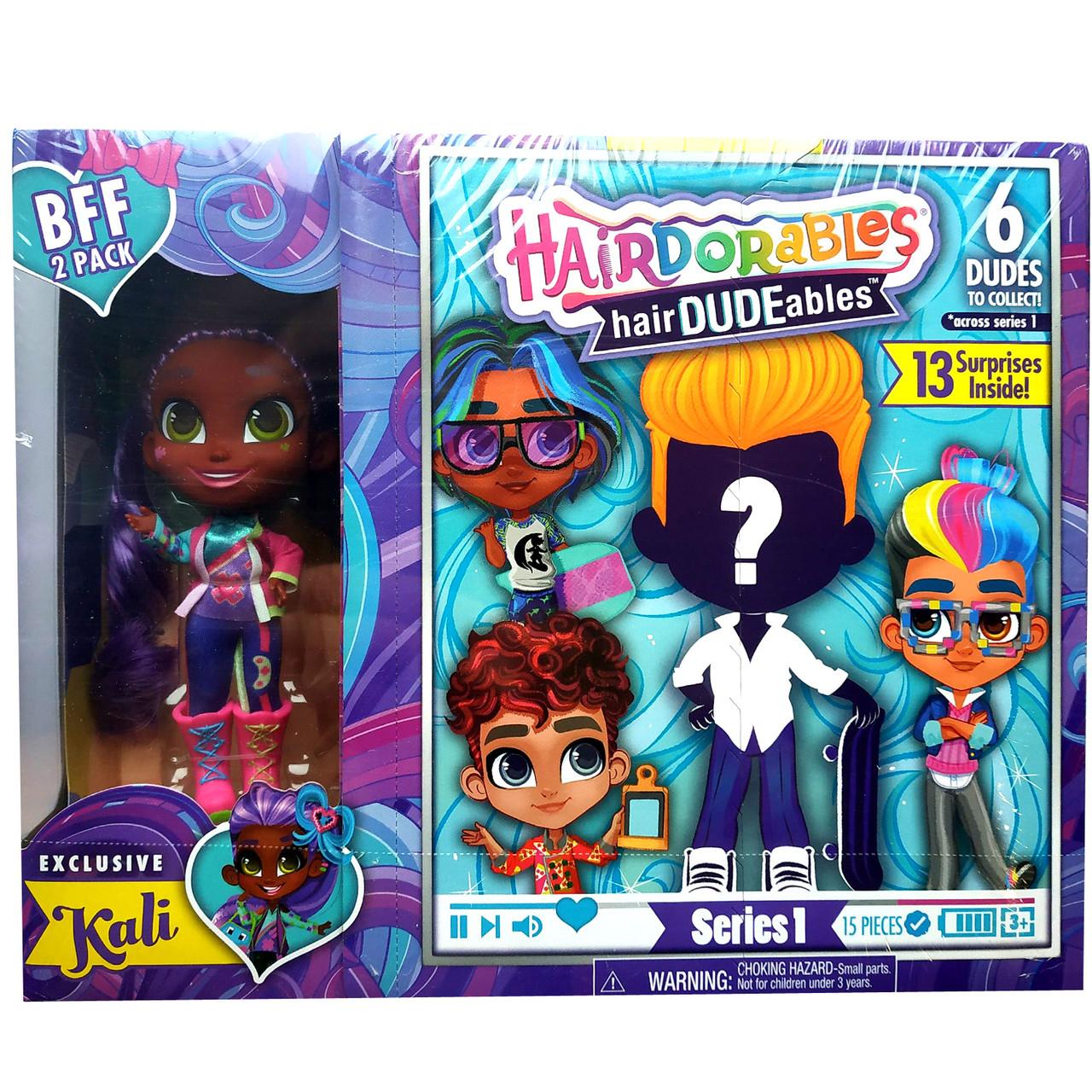 Ляльки сюрпризи Хэрдораблс з хлопчиками Hairdorables DUDEables Collectible