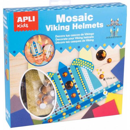 """Творческий набор для мальчиков """"Шлем викинга"""" Apli Kids"""