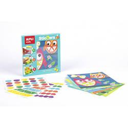 """Мозаика для малышей с наклейками """"Животные"""" Apli Kids"""