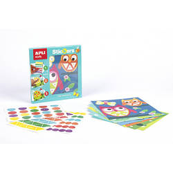 """Мозаїка для малюків з наклейками """"Тварини"""" Apli kids"""