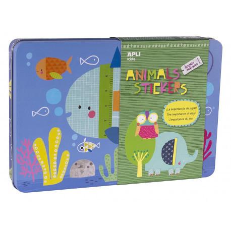 Наклейки для малюків «Тварини» Apli kids