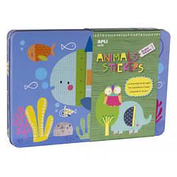 Наклейки для малышей «Животные» Apli kids