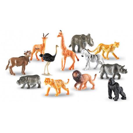"Набор реалистичных фигурок ""Дикие джунгли"" (12 шт) Learning Resources"