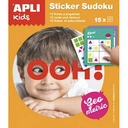 Набір міні-ігор «Судоку. Геометричні фігури» Apli kids
