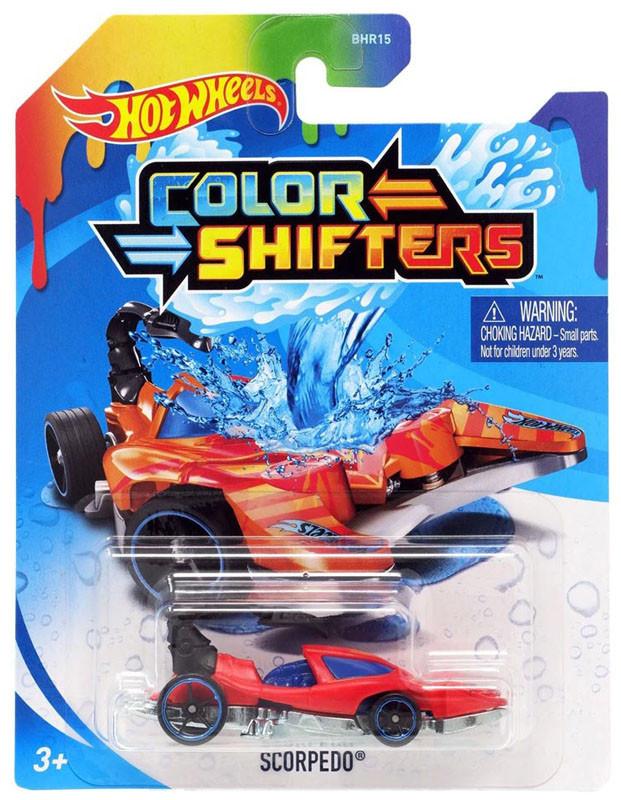 Машинка Хот Вилс меняющая цвет, Hot Wheels™ Colors Shifters (SCORPEDO® - GKC20)